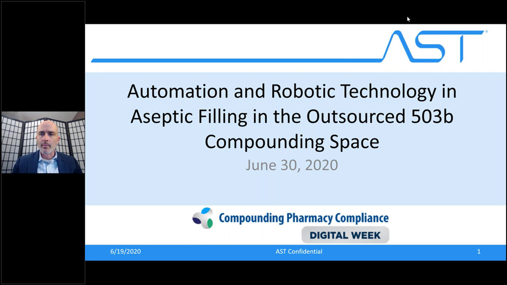 AST at Compounding Pharmacy Compliance's 2020 Digital Week