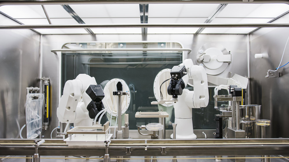 The Advantages Of Robotics In Aseptic Fill Finish