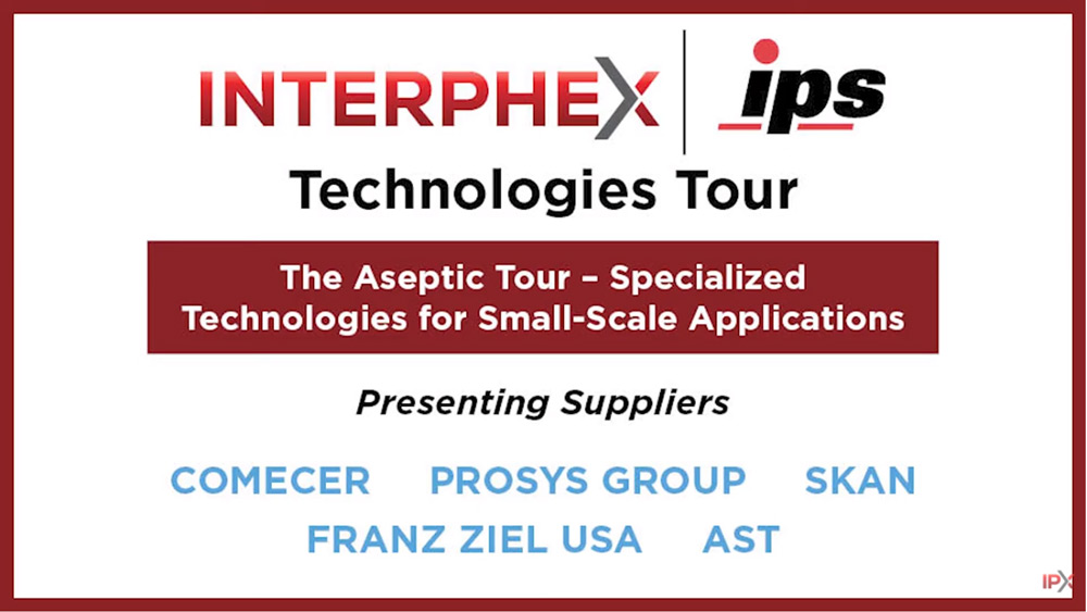 Aseptic IPS Technologies Tour