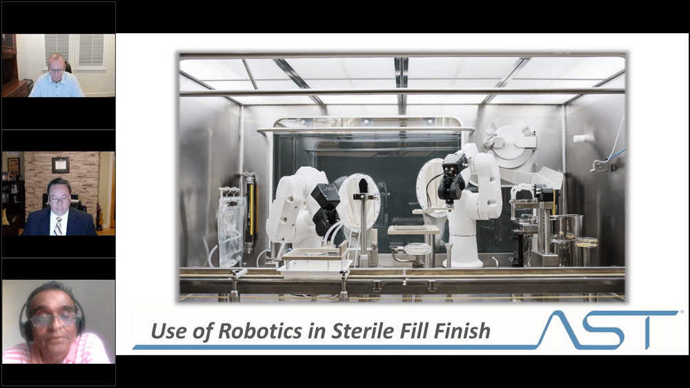 Use of Robotics in Aseptic Fill Finish